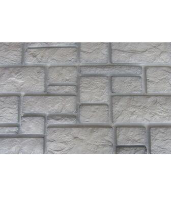 Фасадные панели Аэлит Дворцовый Камень Белый