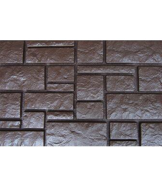 Фасадные панели Аэлит Дворцовый Камень Коричневый