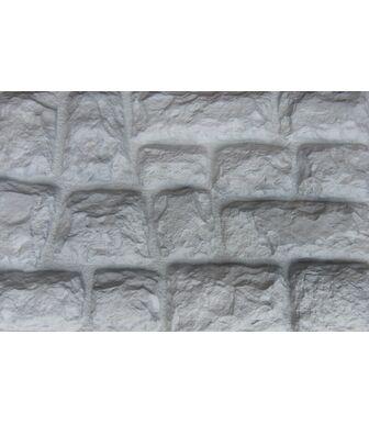 Фасадные панели Аэлит Камень Крупный Белый