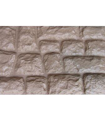Фасадные панели Аэлит Камень Крупный Бежевый
