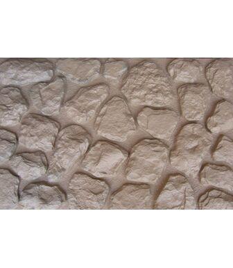Фасадные панели Аэлит Камень Мелкий Бежевый