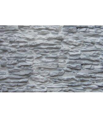Фасадные панели Аэлит Пласт Крупный Белый