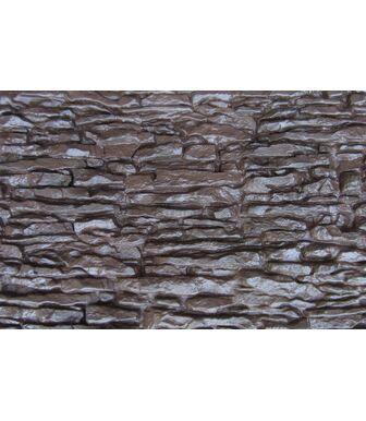Фасадные панели Аэлит Пласт Крупный Коричневый