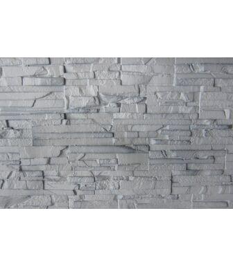 Фасадные панели Аэлит Пласт Плоский Белый