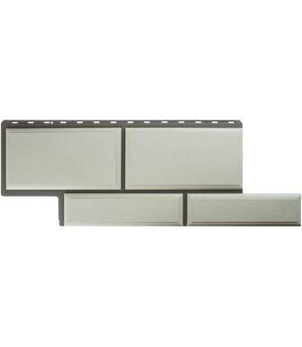 Фасадные панели Альта-Профиль Камень Флорентийский Белый