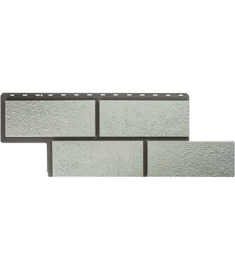 Фасадные панели Альта-Профиль Камень Неаполитанский Белый