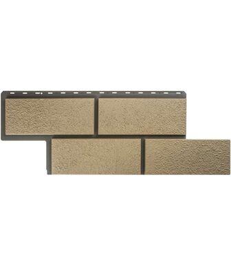 Фасадные панели Альта-Профиль Камень Неаполитанский Слоновая кость