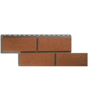 Фасадные панели Альта-Профиль Камень Неаполитанский Терракотовый