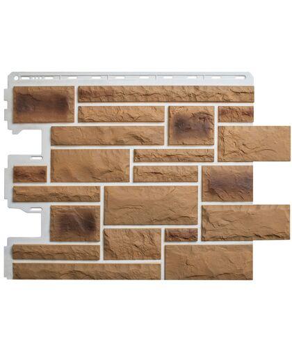 Фасадные панели Альта-Профиль Камень Пражский 02