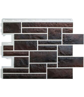 Фасадные панели Альта-Профиль Камень Пражский 05