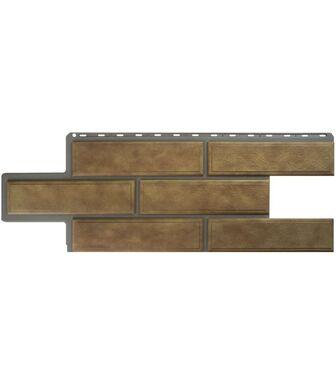 Фасадные панели Альта-Профиль Камень Венецианский Бежевый
