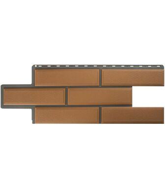 Фасадные панели Альта-Профиль Камень Венецианский Персиковый