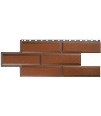 Фасадные панели Альта-Профиль Камень Венецианский Терракотовый