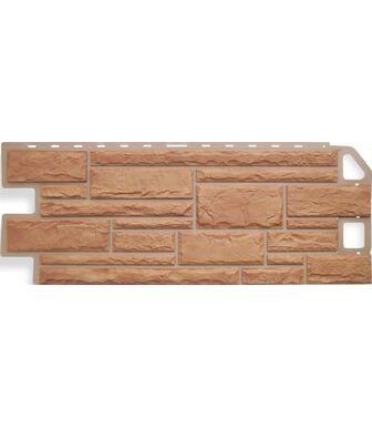 Фасадные панели Альта-Профиль Камень Бежевый