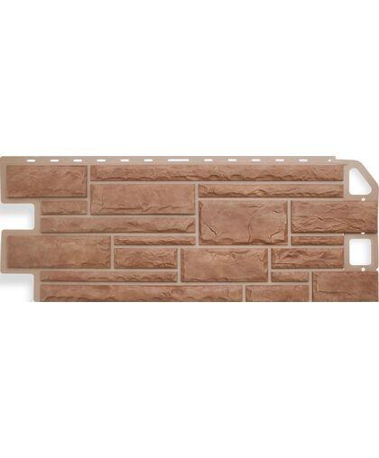 Фасадные панели (Цокольный Сайдинг) Альта-Профиль Камень Кварцит