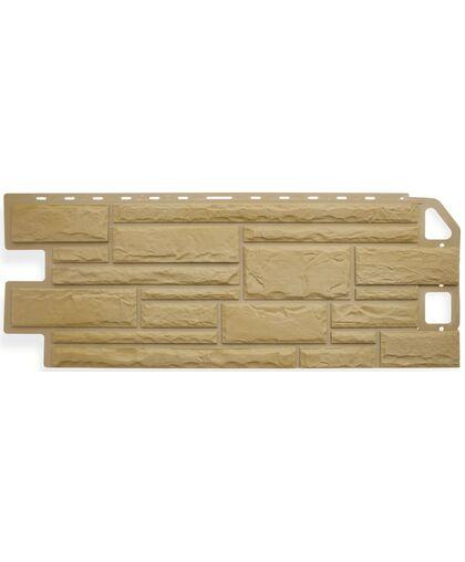 Фасадные панели (Цокольный Сайдинг) Альта-Профиль Камень Песчаник