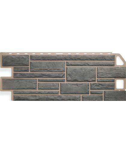 Фасадные панели (Цокольный Сайдинг) Альта-Профиль Камень Топаз