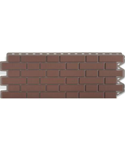 Фасадные панели (Цокольный Сайдинг) Альта-Профиль Кирпич Клинкерный Жженый