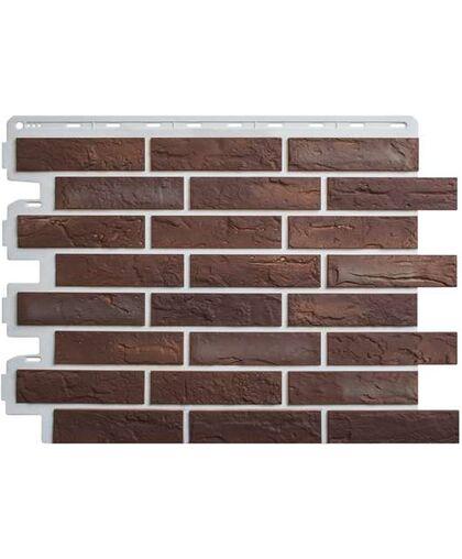 Фасадные панели Альта-Профиль Кирпич Рижский 01