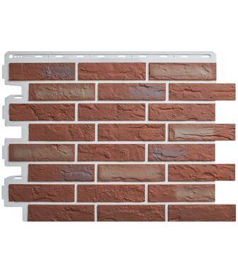 Фасадные панели Альта-Профиль Кирпич Рижский 02