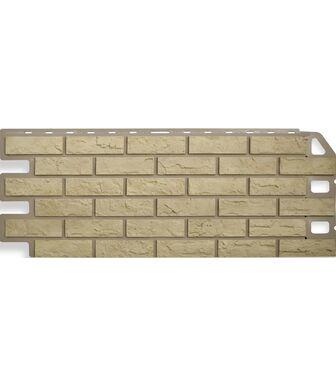 Фасадные панели Альта-Профиль Кирпич Желтый