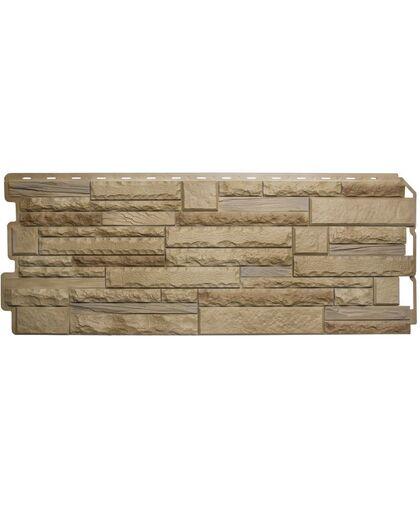 Фасадные панели (Цокольный Сайдинг) Альта-Профиль Скалистый Камень Альпы Комби