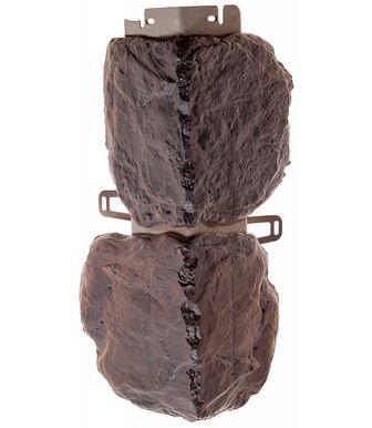 Угол наружный Альта-Профиль Бутовый Камень Датский
