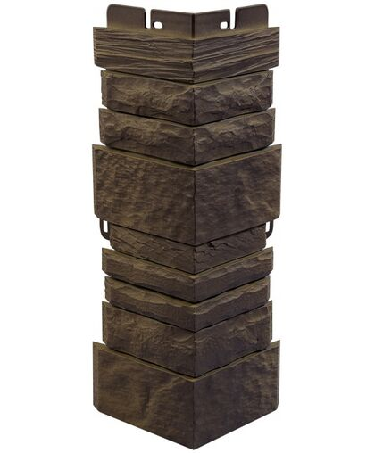 Угол наружный к Фасадным Панелям Альта-Профиль Камень Шотландский Блэкберн