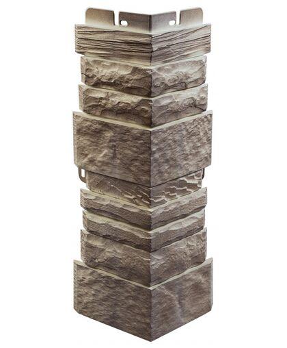 Угол наружный к Фасадным Панелям Альта-Профиль Камень Шотландский Линвуд