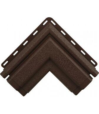 Угол наличника Классик коричневый Альта-Декор для фасадных панелей Альта-Профиль