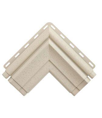 Угол наличника Модерн кремовый Альта-Декор для фасадных панелей Альта-Профиль