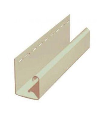 Планка J-trim Альта-Декор для фасадных панелей Альта-Профиль