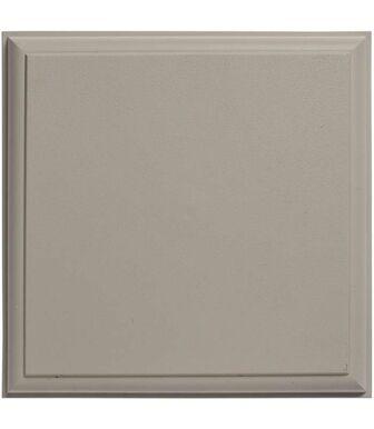 Отделочный элемент 2 Белый 0,25 х 0,25 м Альта-Декор для фасадных панелей Альта-Профиль