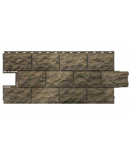 Фасадные панели Фасайдинг Дачный Доломит Дымчатый