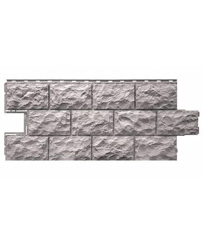 Фасадные панели Фасайдинг Дачный Доломит Серый