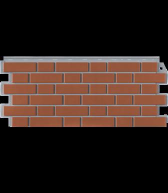 Фасадные панели Фасайдинг Дачный Кирпич Клинкерный Керамический