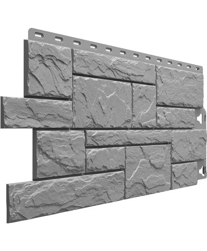 Фасадные панели (Цокольный Сайдинг) Docke (Деке) Slate (Слейт) Валь-Гардена