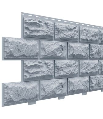 Фасадные панели Доломит Альпийский Серо-Голубой