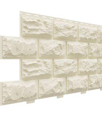 Фасадные панели Доломит Альпийский Слоновая кость
