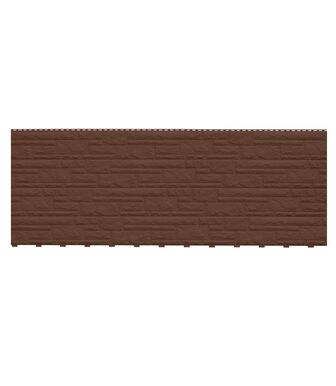 Фасадные панели Доломит Доломит NEW Темно-коричневый