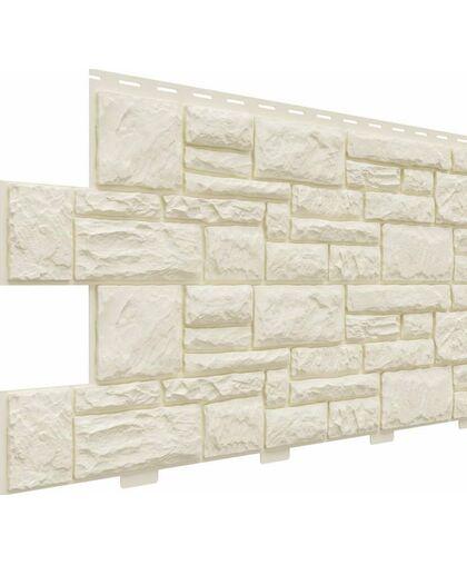 Фасадные панели Доломит Крымский Берег Слоновая кость