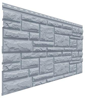 Фасадные панели Доломит Rockvin Серо-голубой