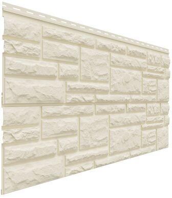 Фасадные панели Доломит Rockvin Слоновая кость