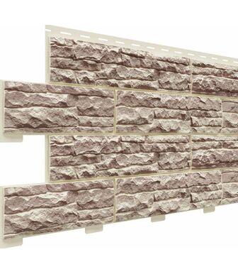 Фасадные панели Доломит Скалистый Риф Люкс Коралл