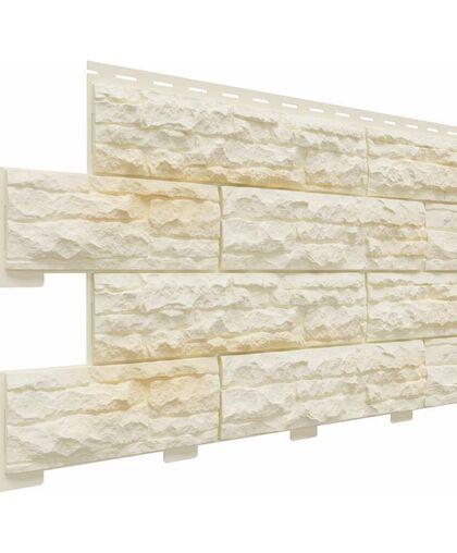 Фасадные панели Доломит Скалистый Риф Премиум Дюна