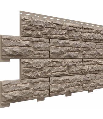 Фасадные панели Доломит Скалистый Риф Премиум Графит