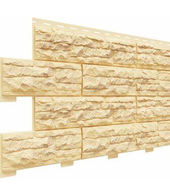 Фасадные панели Доломит Скалистый Риф Премиум Карри