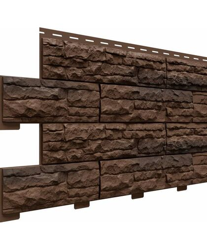 Фасадные панели Доломит Скалистый Риф Премиум Сафари
