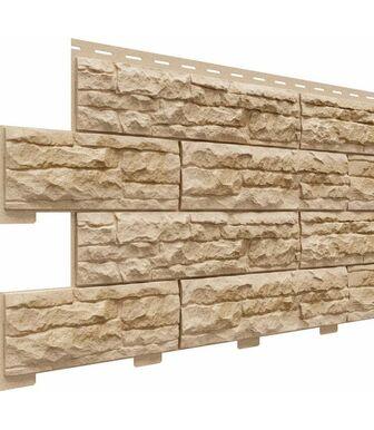 Фасадные панели Доломит Скалистый Риф Премиум Умбра