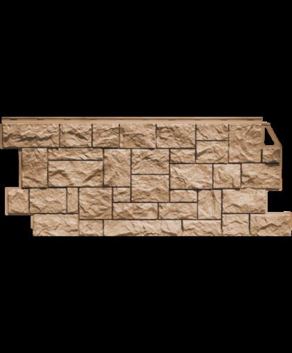 Фасадные панели FineBer Камень Дикий Терракотовый
